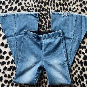 Newbury Custom bell bottom denim jeans
